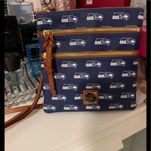 Dooney & Bourke Seattle Seahawks crossbody